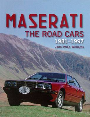 Maserati ther road cars 1981-1997